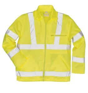 PPE High Visibility Polycotton Work Jacket