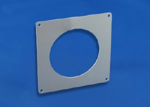 PL100 - RDWP - Round Duct Wall Plate