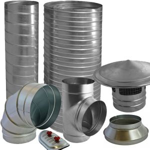 Spiral Pipe and Fittings