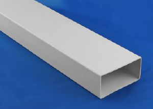 PL100 - FD  110 x 54mm Flat Channel Duct