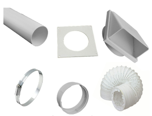DOTKF 100mm Tumble Dryer Kit with Flex