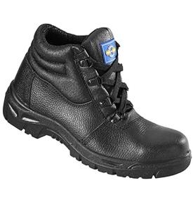 PPE Rockfall Safety Leather Chukka Boots