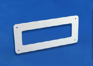 PL125 - FDWP - Flat Channel Wall Plate