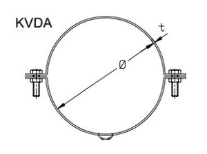 KVDA - Split Ring with Hole
