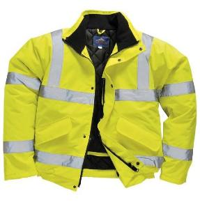 PPE High Visibility Waterproof Bomber Jacket