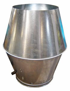 Rolled Edge High Velocity Jet Cone (Large)