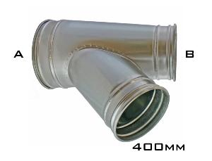 CTV45 - 400mm Clip Branch On Pipe/Reducer