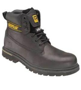 PPE Caterpillar Holton Black Safety Boot (Black)