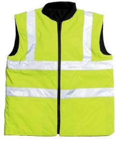 PPE High Visibility Reversible Bodywarmer
